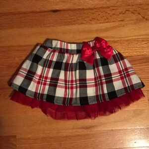 Children's Place Lovely plaid skirt Size 12-18mo!
